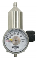 REGULATOR CGA600 1.5 LPM NICKEL PLATED BRASS 500PSI