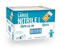 NITRILE NON-POWDERED LARGE 4 MIL 10/CASE