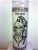 ELEGGUA ELEGUA SEVEN DAY CANDLE IN GLASS