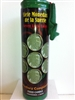 SEVEN LUCKY COINS PREPARED SCENTED CANDLE IN GLASS (SIETE MONEDAS DE LA SUERTE)