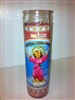 DIVINO NINO JESUS CANDLE ( DEVINE CHILD JESUS CANDLE )