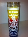 CHANGO MACHO THREE COLOR SEVEN DAY CANDLE ( CHANGO MACHO CANDLE )