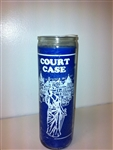 COURT CASE SEVEN DAY CANDLE IN GLASS