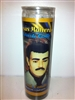JESUS MALVERDE PREPARED SEVEN DAY CANDLE IN GLASS
