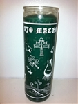 AJO MACHO SEVEN DAY CANDLE ONE COLOR IN GLASS