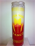 TWO COLOR SEVEN DAY CANDLE FOR CHANGO SHANGO