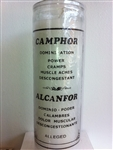 CAMPHOR CAMFOR 7 DAY SCENTED CANDLE IN GLASS (AL CAMPHOR)