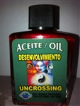 MAGICAL AND DRESSING OIL (ACEITE) 1/2OZ UNCROSSING ( DESENVOLVIMIENTO )