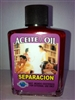 MAGICAL AND DRESSING OIL (ACEITE) 1/2OZ BREAK UP (SEPARACION)