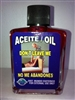 MAGICAL AND DRESSING OIL (ACEITE) 1/2OZ FOR DON'T LEAVE ME (NO ME ABANDONES)