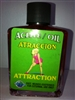 MAGICAL AND DRESSING OIL (ACEITE) 1/2OZ FOR ATTRACTION (ATRACCION)