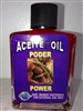 MAGICAL AND DRESSING OIL (ACEITE) 1/2 OZ FOR POWER (PODER)