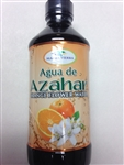 MADRE TIERRA ORANGE FLOWER WATER 8 FL OZ PLASTIC BOTTLE (AGUA DE AZAHAR)