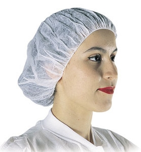 Disposable Bouffant Cap or Hair Nets, 500/cs