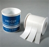 Tape Tri-Cut Medical or Athletic Type cut at 3/8 inch 5/8 inch &1 inch