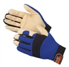 Gloves, Mechanics Golden Knight Premium Pigskin Palm