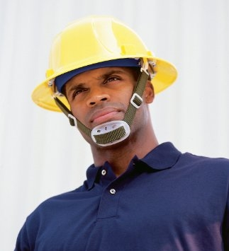 Chin Strap with Chin Guard, for use with hard hat (not included)
