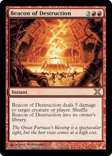 Beacon of Destruction - Tenth Edition - Rare