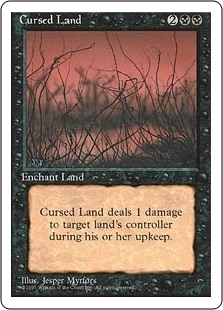 Cursed Land - Fourth Edition - Uncommon