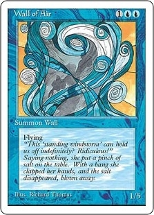 Wall of Air - Fourth Edition - Uncommon