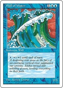 Wall of Water - Fourth Edition - Uncommon