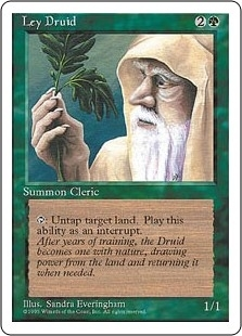 Ley Druid - Fourth Edition - Uncommon