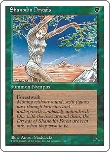 Shanodin Dryads - Fourth Edition - Common