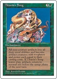Titania's Song - Fourth Edition - Rare