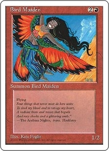 Bird Maiden - Fourth Edition - Common