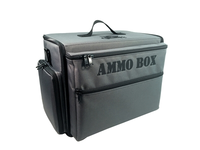Ammo Box Bag with Full Pluck Foam Loadout - Grey