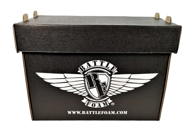 Battle Foam Medium Stacker Box (Stone Black) - BF-MIS-BFSBPPB