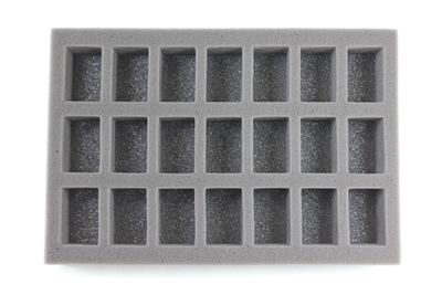 Small Troop Foam Tray (BFS) 11.5W x 7.625L x 2H - BF-BFS-ST2