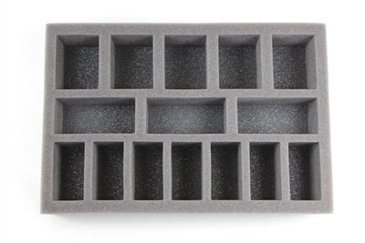 Large Troop Foam Tray (BFS) 11.5W x 7.625L x 1.5H - BF-BFS-LT15
