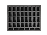 32 Medium 6 Tall Troop Foam Tray (BFL) 15.5W x 12L x 1.5H - BF-BFL-32M6T