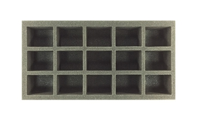 15 X-Large Model Foam Tray (BFM) 15.5W x 8L x 1.5H - BF-BFM-15XLM15