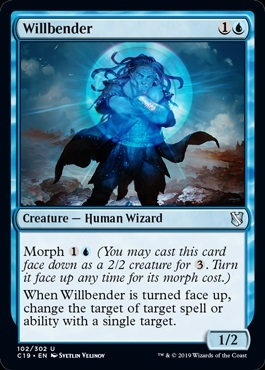 Willbender - Commander 2019 - Uncommon