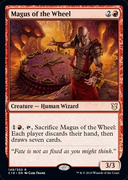 Magus of the Wheel - Commander 2019 - Rare