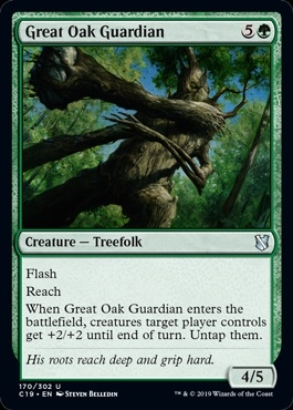Great Oak Guardian - Commander 2019 - Uncommon