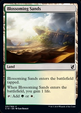 Blossoming Sands - Commander 2019 - Common