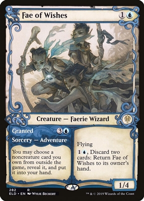 Fae of Wishes // Granted - Showcase - Throne of Eldraine Collector Boosters - Rare