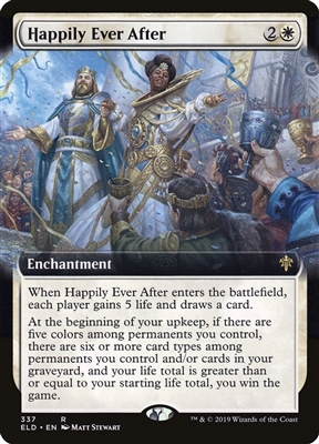 Happily Ever After - Extended Art - Throne of Eldraine Collector Boosters - Rare