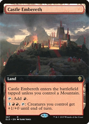 Castle Embereth - Extended Art - Throne of Eldraine Collector Boosters - Rare
