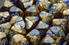 Chessex 12D6 - 16mm Gemini Blue-Gold with White Pips