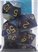 Chessex Polyhedral 7 Die Set - Speckled Twilight