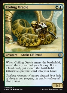 Coiling Oracle - Conspiracy: Take the Crown - Uncommon