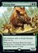 Nessian Boar - Extended Art - Theros Beyond Death Collector Boosters - Rare