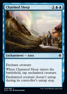 Charmed Sleep - Throne of Eldraine - Common
