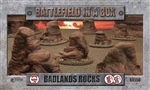Battlefield in a Box - Badlands Rocks
