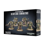 DEATH GUARD BLIGHTLORD TERMINATORS
