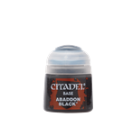 BASE - ABADDON BLACK - 12ml - Games Workshop